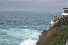 Cliffs to the Tasman Sea at South Head Sydney, Australia