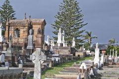 A grave yard at South Head Sydney, Australia