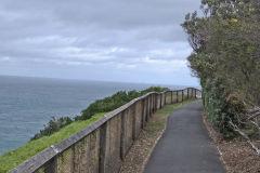 A walk way at South Head Sydney, Australia