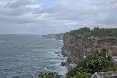 Cliffs to the Tasman Sea in Winter at South Head Sydney, Australia