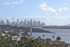 View of Sydney CBD from South Head Sydney, Australia