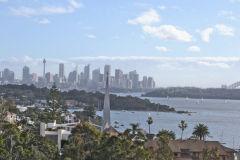 View of Sydney CBD from South Head Sydney, Australia