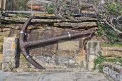 An old anchor at South Head Sydney, Australia