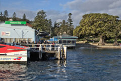 A view of Watsons Bay taken from the ferry, Sydney, Australia