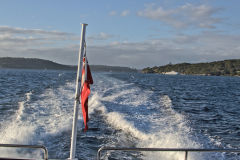 On the ferry from Watsons Bay to Rose Bay, Sydney, Australia