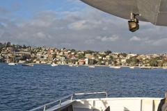 Scenery around Sydney Cove taken from the ferry in Sydney, Australia