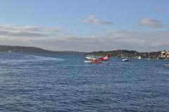A water plane taken from Rose Bay, Sydney, Australia