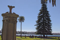 View in the Royal Botanical Garden Sydney, Australia