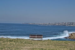 Scenery on a walk from Bondi Beach to Cape Banks in Winter in Sydney, Australia