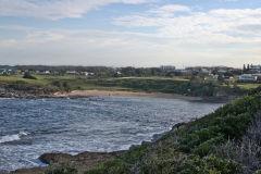Scenery on a walk from Bondi Beach to Cape Banks in Winter in Sydney, Australia