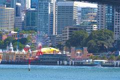 Luna Park taken from Circular Quay in Sydney, Australia