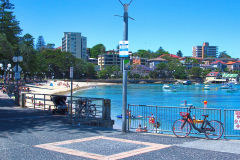 Cabbage Tree Bay near Manly Wharf in Sydney, Australia
