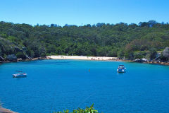 Collins Flat Beach near Manly Wharf in Sydney, Australia