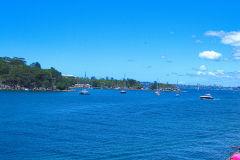 Ships near Manly Wharf in Sydney, Australia