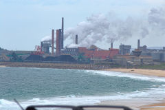 A coal fired power plant south of Wollongong, New South Wales, Australia