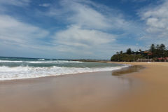 A beach somewhere north of Wollongong, Australia