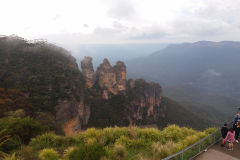 The Three Sisters in the Blue Mountains, Australia