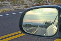 Landscape in the Mojave Desert in California, USA