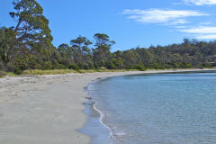 White Beach on Tasman Peninsula Tasmania.