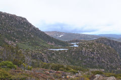 Lakes at Rodway Range in Mount Field National Park Tasmania