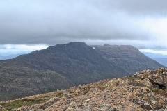 Mount Field West view from Rodway Range in Mount Field National Park Tasmania