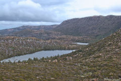 Small lakes near Rodway Range in Mount Field National Park Tasmania