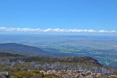 On top of the Mount Field West in Tasmania.
