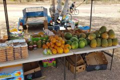 A fruit stand in Darwin Australia 2019