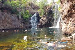A water fall in Litchfield National Park Northern Territory in Australia 2019