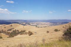 Farmland west of Blue Mountains Australia