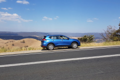 Car in the Blue Mountains east of Sydney 2019