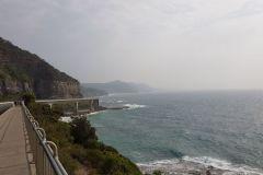 Pacific Ocean Road south of Sydney Australia