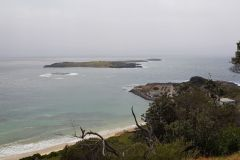 Ocean view south of Sydney