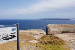 Entrance of Jervis Bay south of Sydney