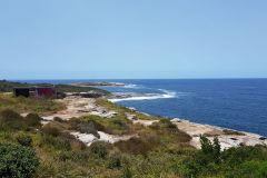 Cape Banks at the Botany Bay in Sydney