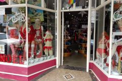 Shop in Surry Hills Sydney just before Christmas in Australia