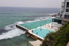 The famous Bondi Beach pool in Sydney