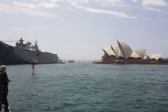 Carrier at Australia Day 2020 in Sydney