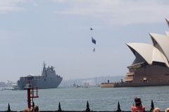 Military at Australia Day 2020
