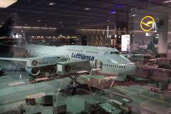 Lufthansa 747 8I flight from Frankfurt to Johannesburg South Africa