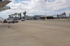 The small Husea Kutako International Airport in Windhoek