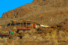Owners house of a Valley of a Thousand Hills Campsite in Namibia