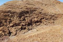 Organ Pipes in Twyfelfontain near Khorixas in Namibia