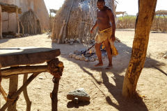A Damara village in Namibia