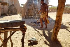 A Damara village in Namibia