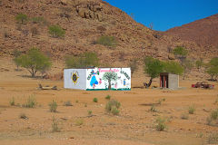 A kindergarden in the Himba region of Namibia