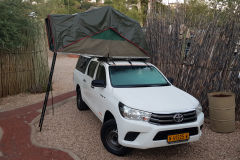 Campsite at Urban Camping Windhoek Namibia