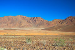 Desert landscape in Namib-Naukluft National Park Namibia