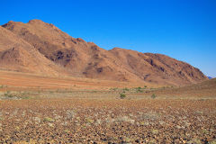Landscape in Namib-Naukluft National Park Namibia