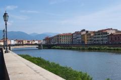 River in Pisa, Italy